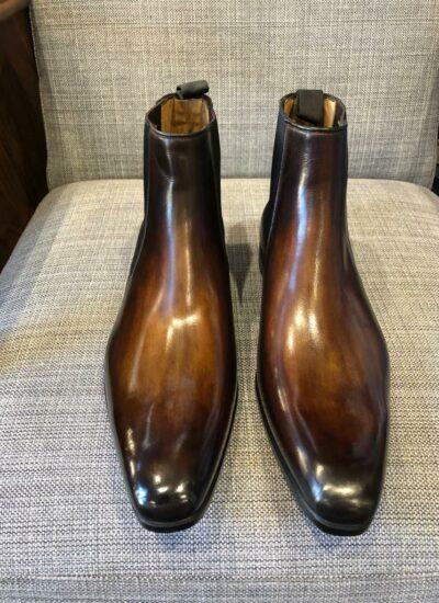 patine cuir cordonnier minassian boulogne
